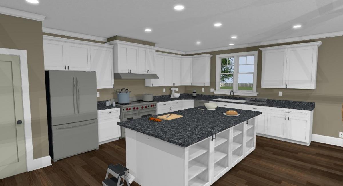 Apothecary II kitchen view