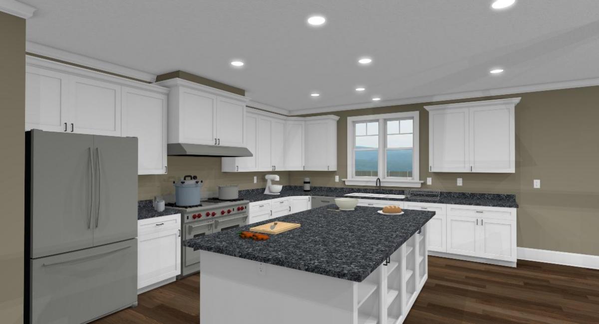 apothecary III kitchen view