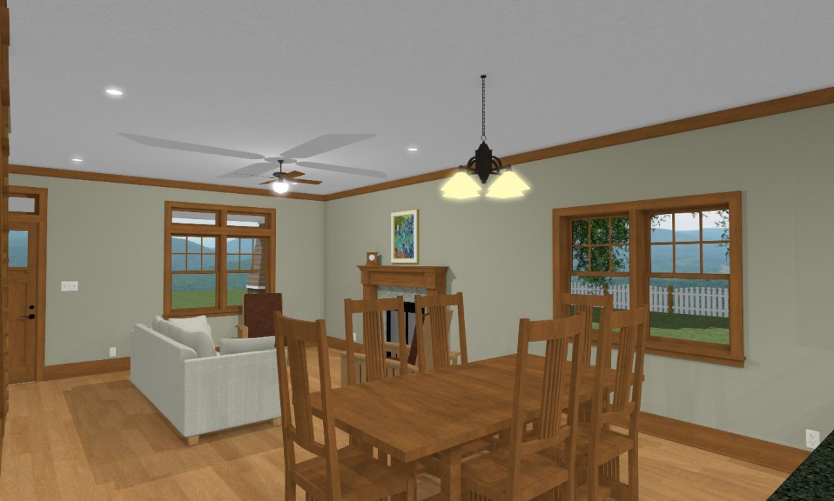 Craftsman I Living and Dining