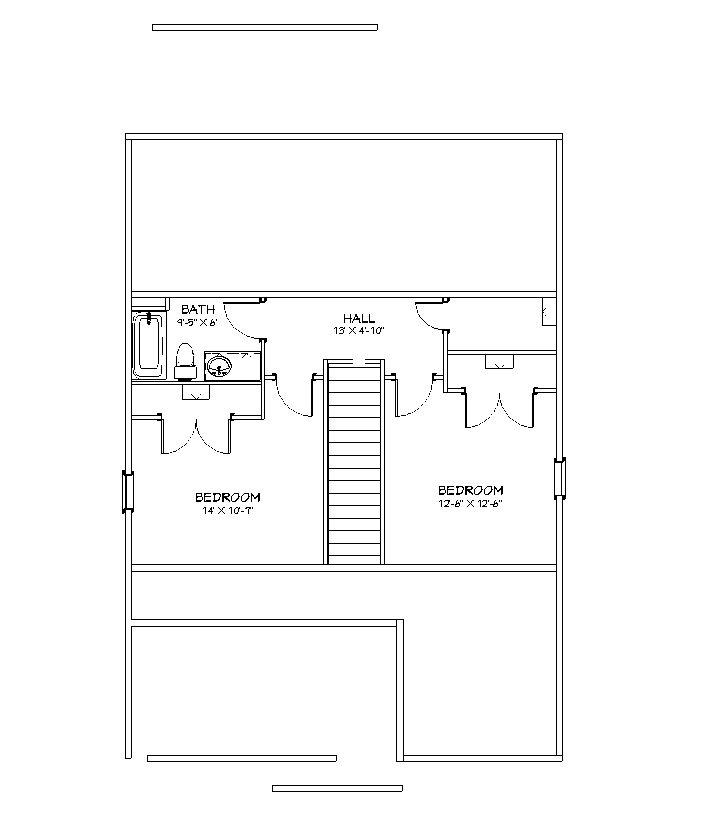 Craftsman I Second Floor Plan