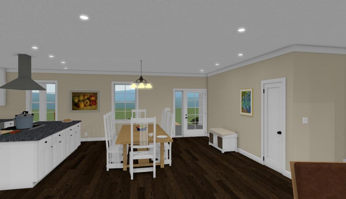 Homesteader Cottage Dining Room