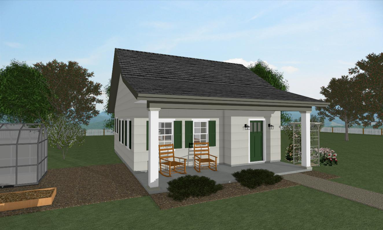 The Rose Cottage house plan