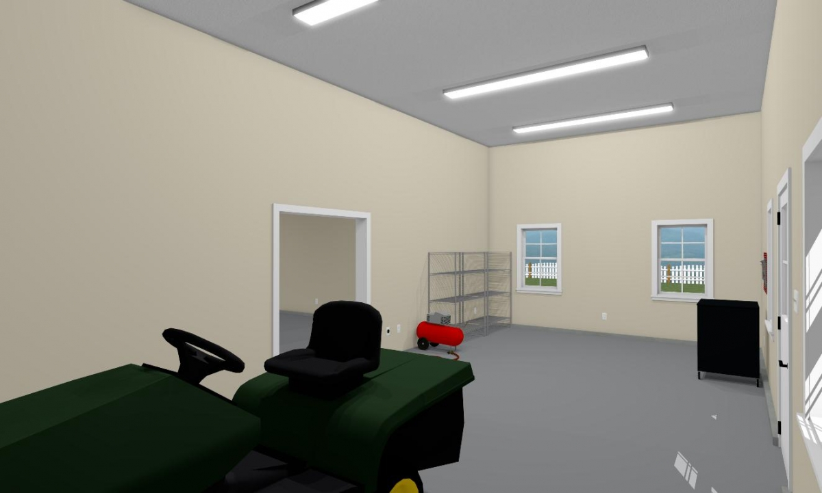 Farmstead Garage Barn Interior 1