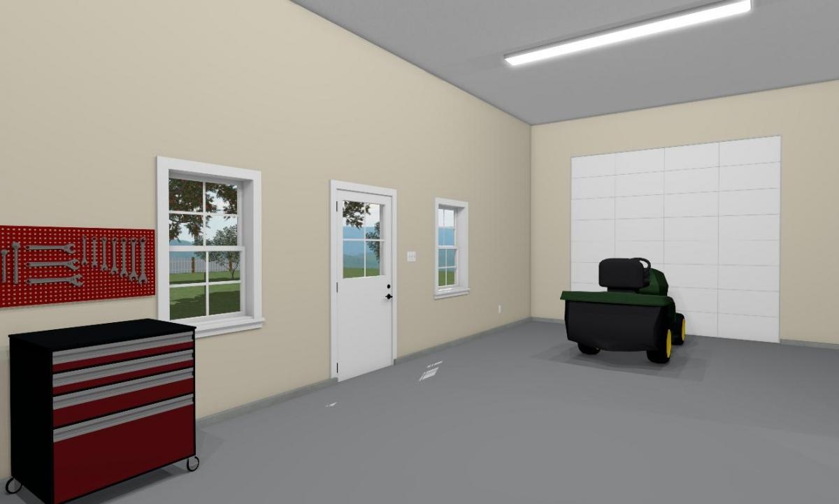 Farmstead Garage Barn Interior 2