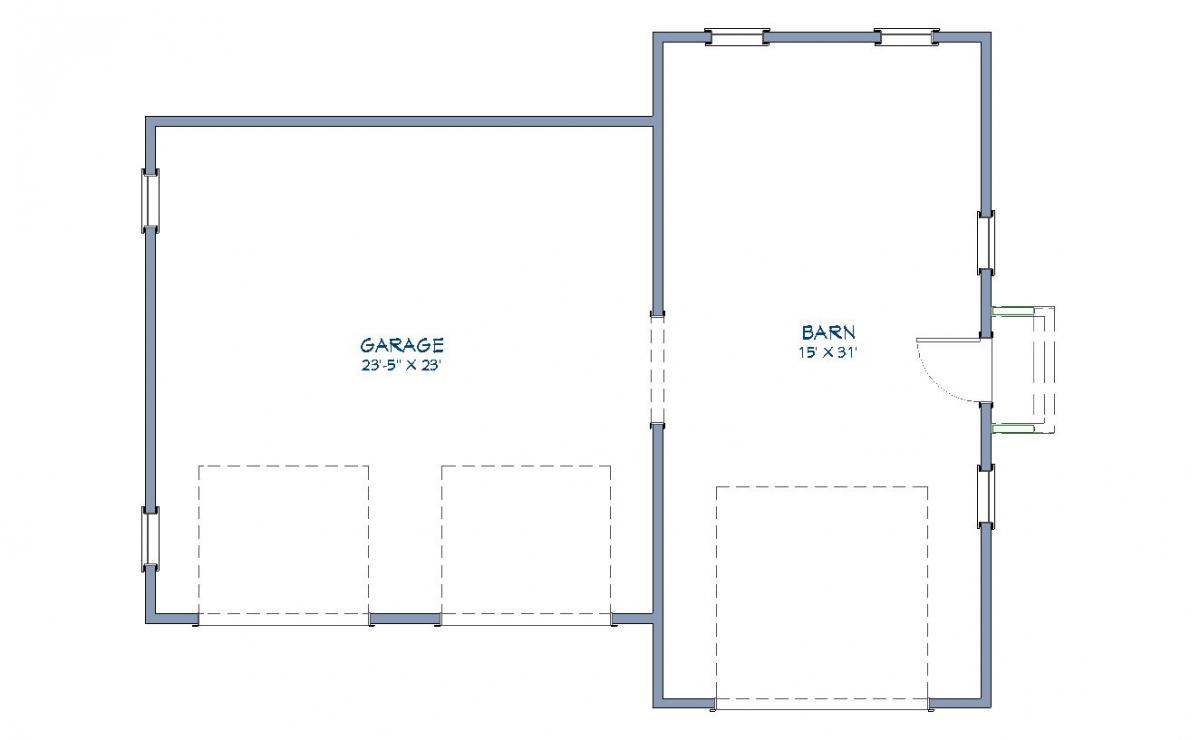 Farmstead Garage Floor Plan